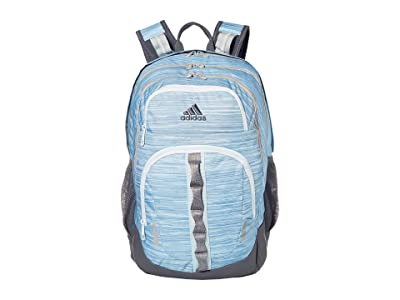 adidas Prime V Backpack (Sky Tint Looper/Sky Tint/Onix/Grey Two/Heather Grey) Backpack Bags