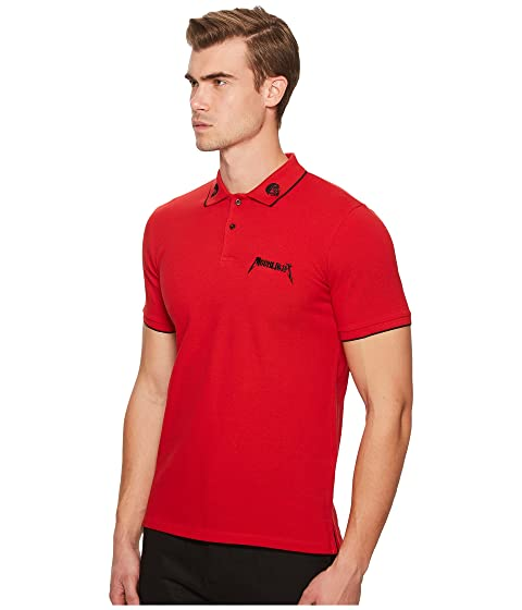 The Kooples Red Polo Shirt with Star Embroidery Red For Cheap For Sale Sale Websites Discount Wide Range Of uUG5exxNQ