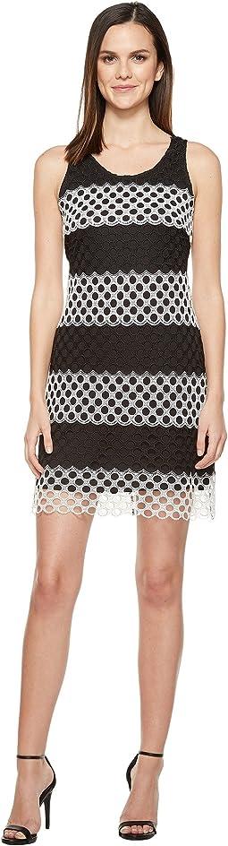 Chemical Lace Sheath Dress