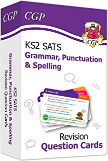 New KS2 English SATS Revision Question Cards: Grammar, Punctuation & Spelling