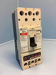 Cutler-Hammer JD3250F 250A Circuit Breaker Red w 200 Amp Trip 600V 3P JD3200 dmg
