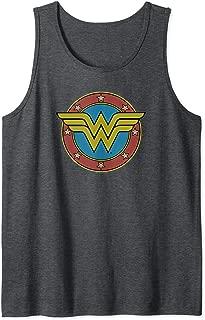 Wonder Woman Vintage Emblem Tank Top