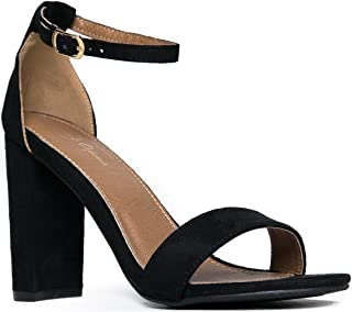 Shirley Heels for Women - Ankle Strap High Heel Dressy Sandals