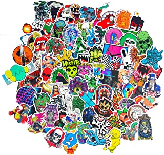 DreamerGO Cool Graffiti Stickers 100 Pieces Various Car Motorcycle Bicycle Skateboard Laptop Luggage Vinyl Sticker Graffiti Laptop Luggage Decals Bumper Stickers (100 Pieces) (Style E)