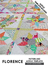 Florence Pattern Acrylic Templates Instructions Jen Kingwell Quilting