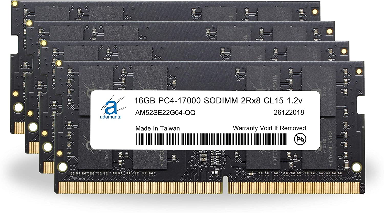 Adamanta 64GB 4x16GB Laptop Memory Limited Special Price Acer Upgrade Compatible Dealing full price reduction for