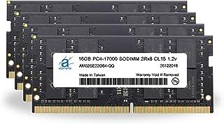 Adamanta 64GB (4x 16gb) ノートPCメモリアップグレードfor Acer Predator 17g9–791–72VU ddr42133pc4–17000SODIMM 2rx8cl151.2...