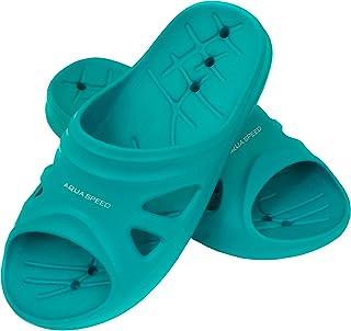 Aqua Speed - Set - Ciabatte da Doccia + Asciugamano in Microfibra | Pantofole da Bagno | Ciabatte da Spiaggia | Donna | Uo...