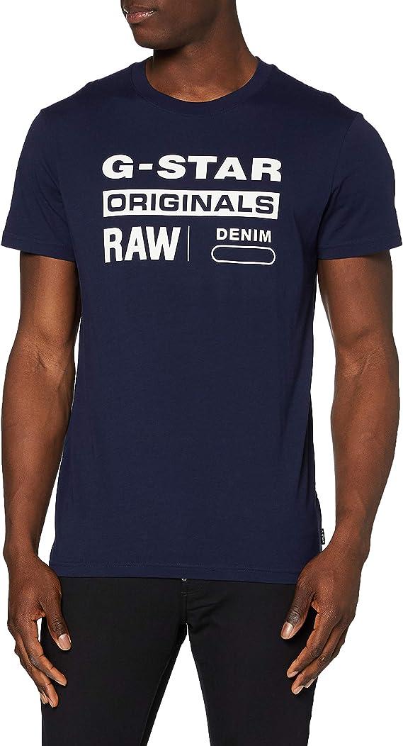 TALLA XS. G-STAR RAW Graphic 8 Camiseta para Hombre