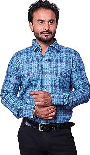 REBANTA Print Shirt for Men Casual Full Sleeve Slim Fit