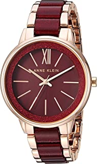 Anne Klein Women's Resin Bracelet Dress Watch