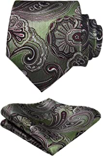 Best olive green paisley tie Reviews