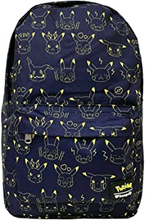 Loungefly x Pokemon Pikachu Expressions Nylon Backpack, Multicolored, One Size