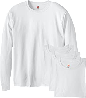 Hanes Men's Long-Sleeve ComfortSoft T-Shirt (Pack of 4)