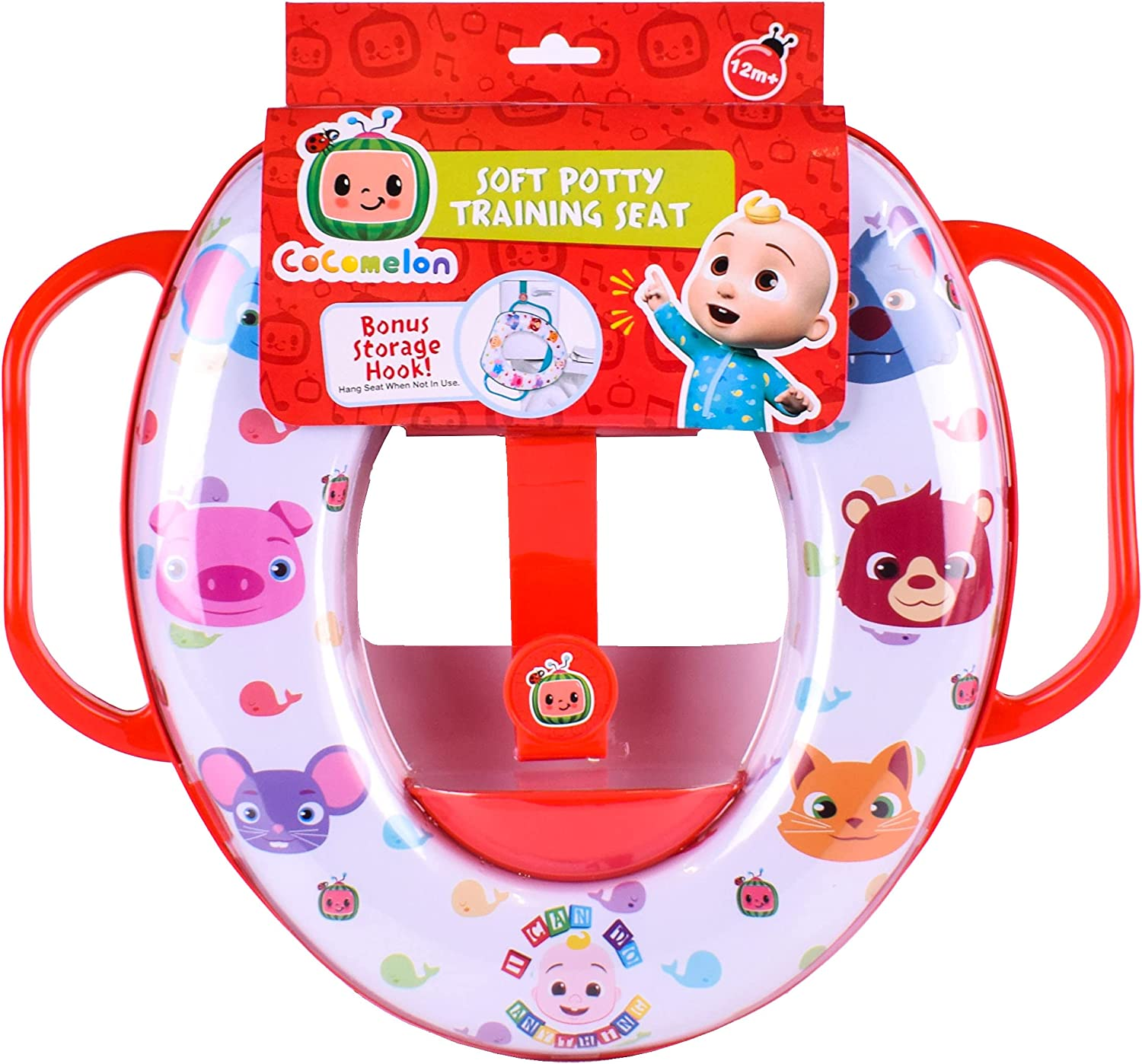 Sunny Days Entertainment Max 47% OFF CoComelon Soft Red Training Seat Potty Super intense SALE