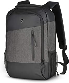 2E Laptop Backpack for Men and Women, Notebook Computer Backpack for Business and Travel, fits 15.6 inch Laptops, Water Resistant, TSA friendly, Slant Grey