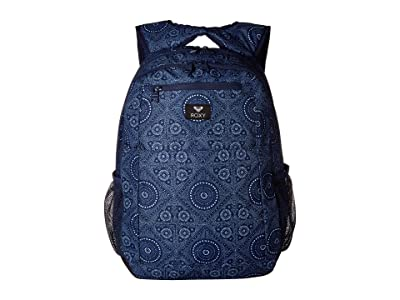 Roxy Here You Are Backpack (Medieval Blue/Shibori Night) Backpack Bags