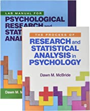 BUNDLE: McBride: The Process of Research and Statistical Analysis in Psychology + McBride: Lab Manual for Psychological Research and Statistical Analysis