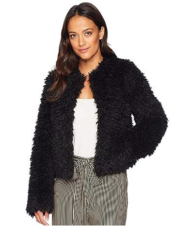 UGG Lorrena Faux Fur (Black) Women