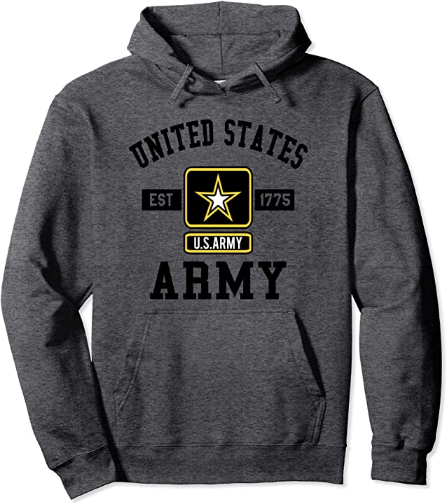 Army Pullover Hoodie Military Pride Shirt