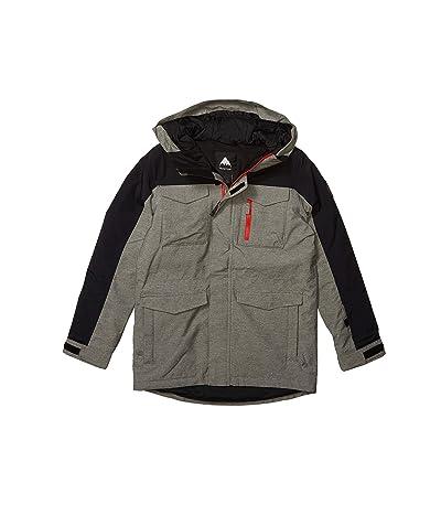 Burton Kids Covert Jacket (Little Kids/Big Kids) (Bog Heather/True Black 1) Boy