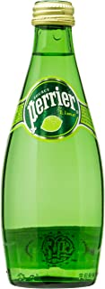 Perrier Lime Sparkling Mineral Water, 4 x 330ml