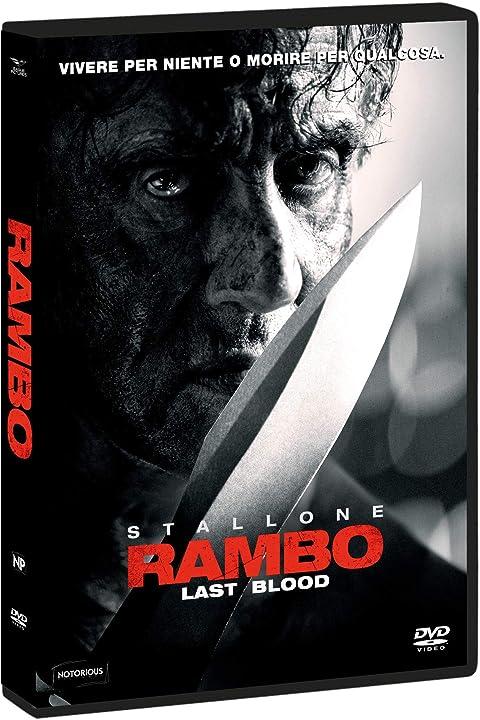 Dvd - film- rambo: last blood - eagle pictures B0828F6KVQ
