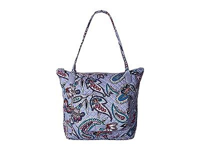 Vera Bradley Carson North/South Tote (Makani Paisley) Tote Handbags
