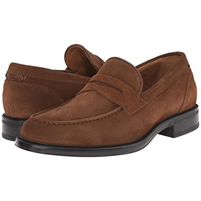 Aquatalia Neil (Medium Brown Dress Suede) Men