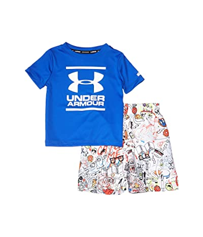 Under Armour Kids Scribble Volley Set (Toddler) (Versa Blue) Boy