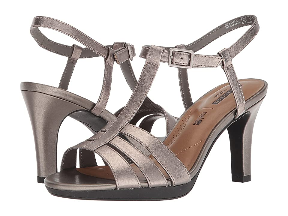 Clarks Adriel Tevis (Pewter Leather) High Heels