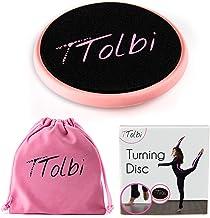 TTolbi Turning Board for Dance, Ballet, Gymnastics | Dance Turn Board on Releve | Turn Disc to Improve Balance and Pirouette | Turning Disc for Dancers | Ballet Turn Board | Dance Spinning Board