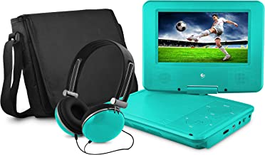 Ematic Portable DVD Player – 7-Inch High Resolution LCD Display, ON-The-GO Movies,..