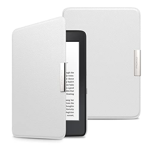 reputable site 43dc8 c3a58 Kindle White Leather Cover: Amazon.com