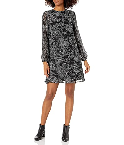 Calvin Klein Long Sleeve Trapeze Dress