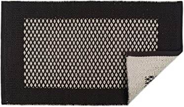 DII Indoor Braided Cotton Handloomed Yarn Dyed Woven Reversible Area Rug for Bedroom, Living Room, Kitchen, 2x3' - Diamond...