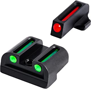 Fiber-Optic Front and Rear Handgun Sights for Sig Sauer Pistols
