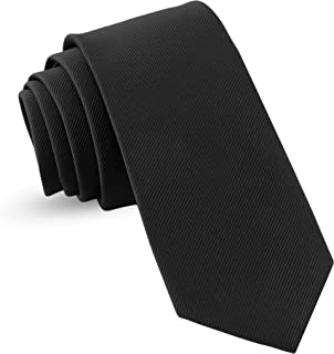 Handmade Ties For Men: Skinny Woven Slim Tie Mens Ties: Thin Necktie, Solid Color & Dots Neckties For Every Outfit
