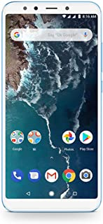 Xiaomi Mi A2-64GB 5.99-Inch Android 8.1 UK Version SIM-Free Smartphone - Blue (Official UK Launch)