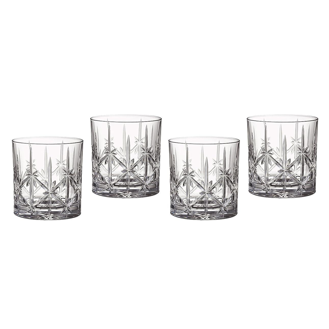 移民十一オークMarquis by Waterford Sparkle Double Old Fashioned Glasses, Set of 4 by Waterford