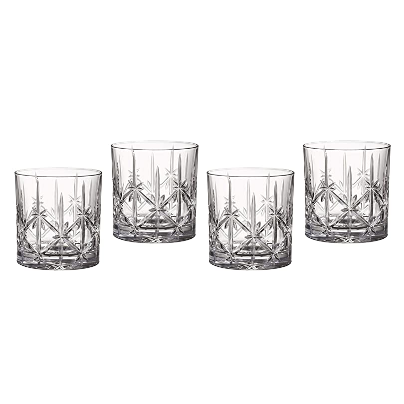 メッシュ良さ羊の服を着た狼Marquis by Waterford Sparkle Double Old Fashioned Glasses, Set of 4 by Waterford