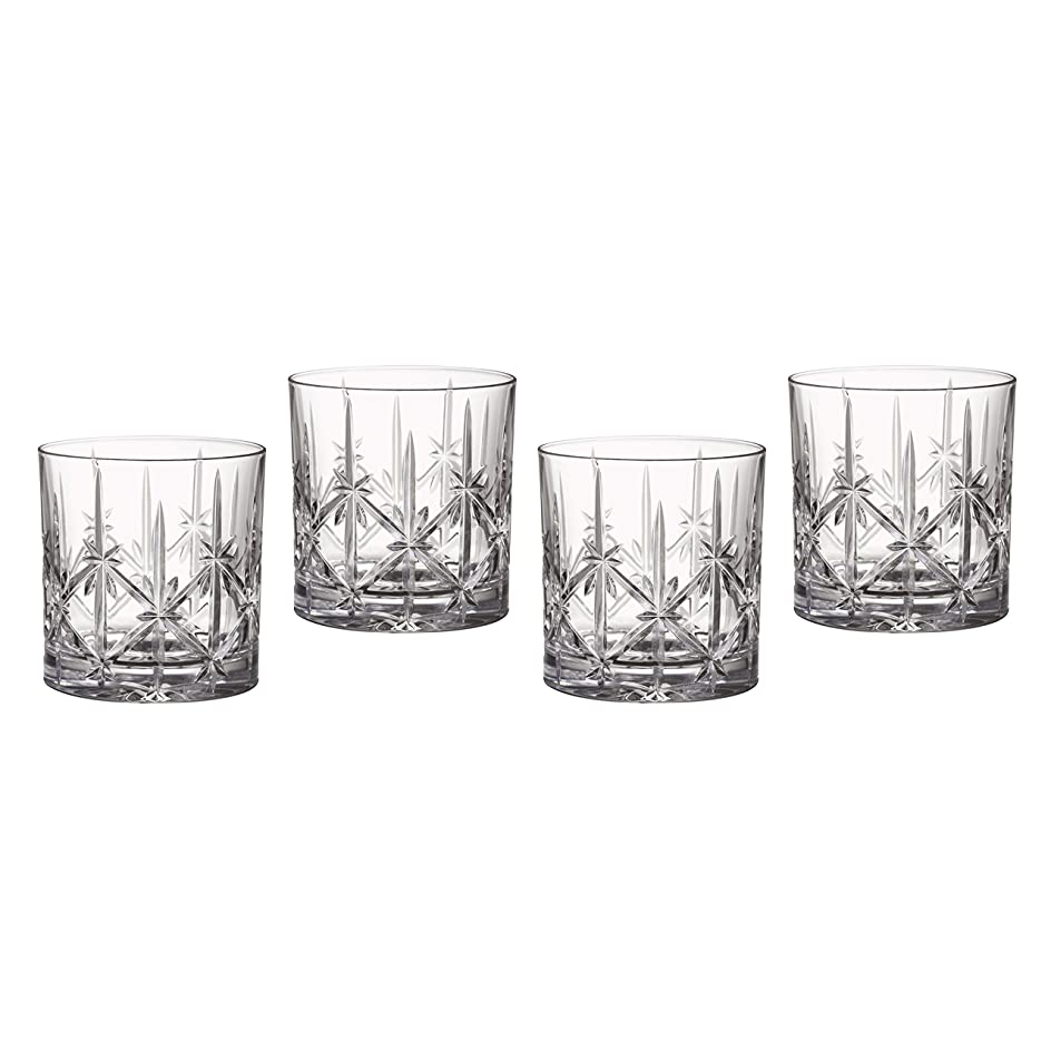 降ろすじゃない累積Marquis by Waterford Sparkle Double Old Fashioned Glasses, Set of 4 by Waterford