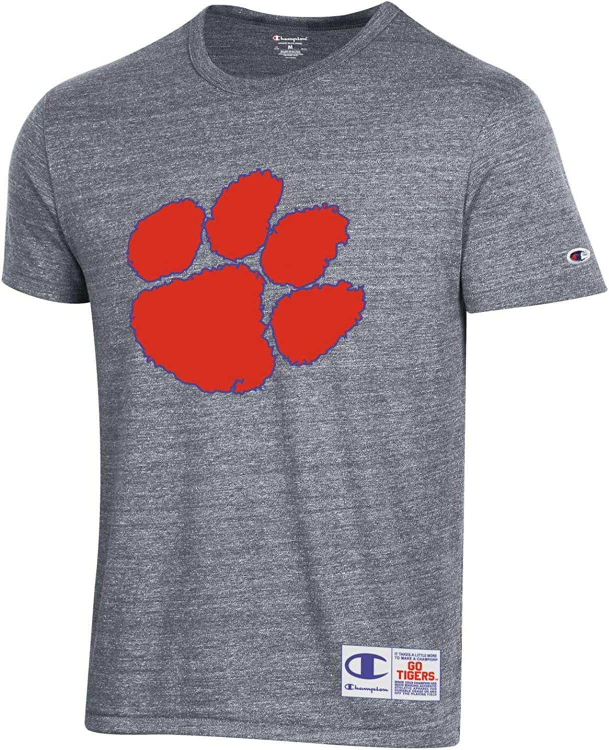 Champion Max 74% OFF NCAA Men's Retro Ultimate with Sch T-Shirt Triblend Old 5 popular