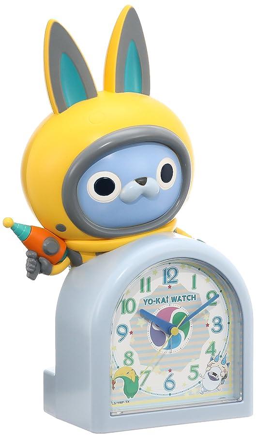 マウント歯車謝るセイコー クロック 目覚まし時計 妖怪ウォッチ USAピョン キャラクター型 おしゃべり アラーム アナログ JF380A SEIKO