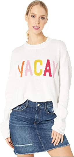 Cropped Varsity Sweater