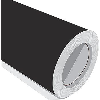 2 Metre (2 m) rollo de HD Negro Mate 610 mm de ancho Vinilo autoadhesivo: Amazon.es: Hogar