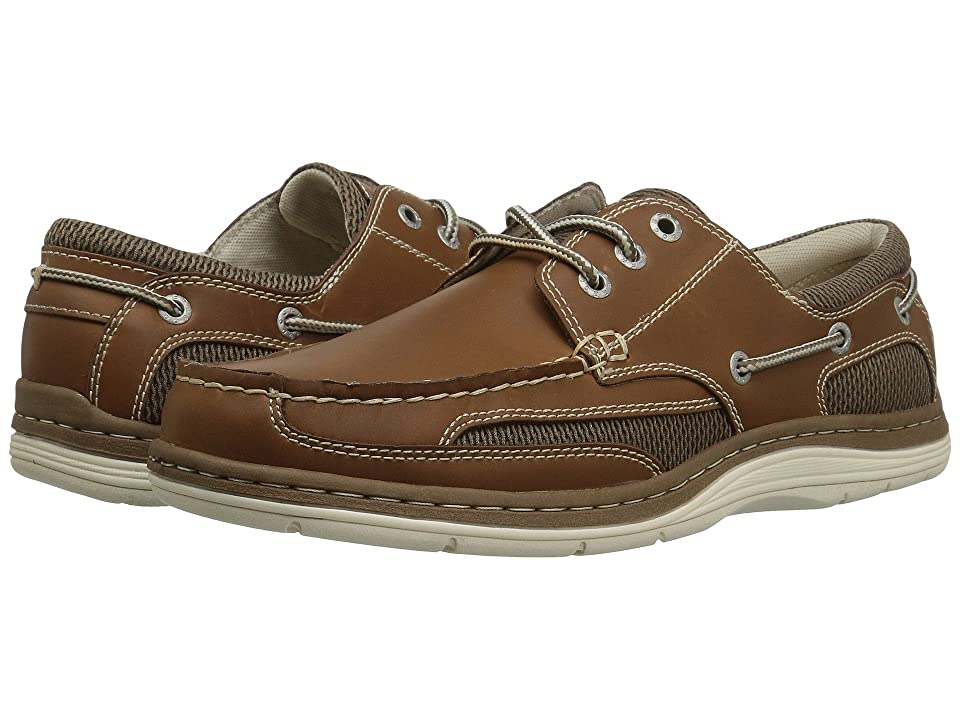 Dockers Lakeport Boat Shoe (Dark Tan Crazyhorse) Men