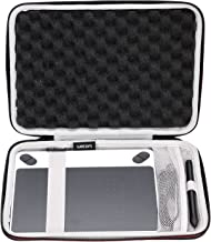 LTGEM Case for Wacom Intuos Draw/Art/Comic/Photo 490 Series Small Size Digital Drawing and Graphics Tablet-Black with Mesh Pocket.