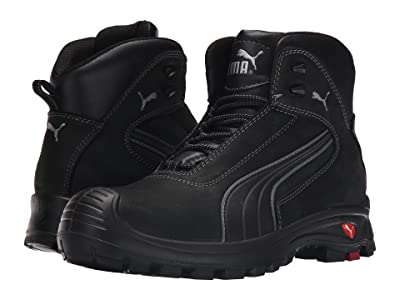 PUMA Safety Cascades Mid EH (Black) Men