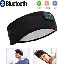 Sleep Headphones Bluetooth, Voerou Wireless Headband Headphones Sports Sweatband with Ultra-Thin HD Stereo Speakers for Sleeping,Workout,Jogging,Yoga,Insomnia, Travel, Meditation